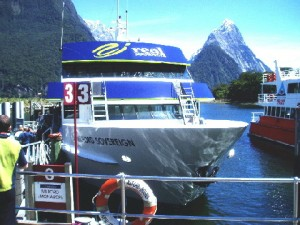 Milford Sound Cruise Boat