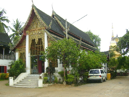 Wat Chay Mol Muang (Phrasing Muang) in the old city of Chiang Mai