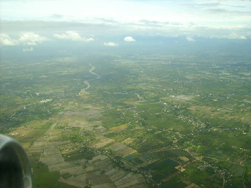 Chiang Mai in a plain