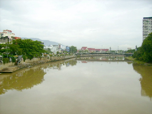 Ping River in Chiang Mai