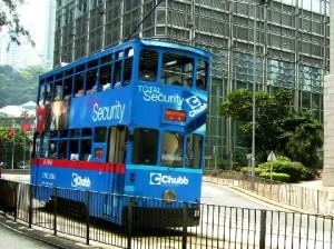 A street tram