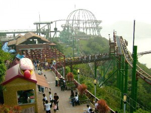 Ocean Park Rollercoaster: Mine Train
