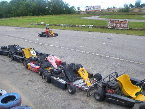 A Go-Kart Race Course, Waterfront City