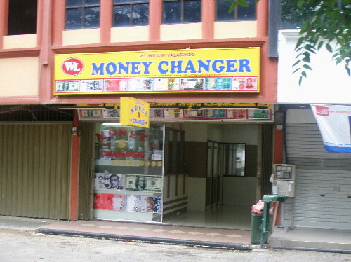 A Money Changer Shop, Nagoya City