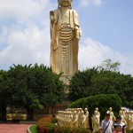 Statue of Buddha of Fo Guang Shan. the largest in Taiwan