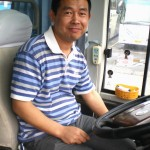 Mr. Su, the tour bus driver