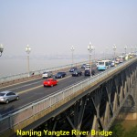 Nanjing Yangtze River Bridge built in 1968