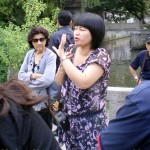 Madam Chien, writer's Suzhou tour guide