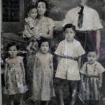 Old photo in Uncle Boon Piau's house