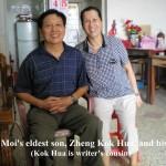 Aunty Chui Moi's eldest son, Zheng Kok Hua