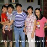 Aunty Chui Moi's 3rd. son, Zheng Jian Hua