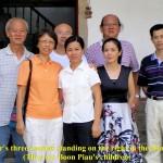 Uncle Boon Piau's three children