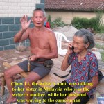 Aunty Chow Li and her husband
