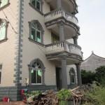 Chow Li's new, large and modern house