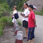 Looking at the breathtaking view of the Putian landscapes