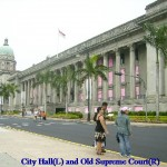 City Hall(L) and Supreme Court(R)