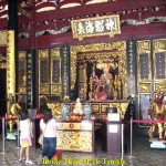 Worshipping Mazu, the Goddess of Seas, in Thian Hock Temple
