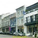 Restored shophouses in Ann Siang Road