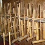 Angklung, a Malay musical instrument