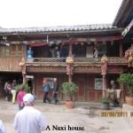A Naxi house