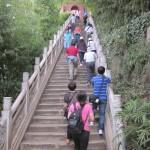 A long climb to Dragon Gate