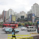 Shopping malls across Jinbi Road