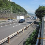 The busy Tomei Expressway