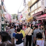 The crowded Takeshita Street