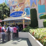 """It's a Small World"" entrance"