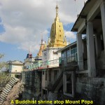 Buddhist Shrine atop Mount Popa
