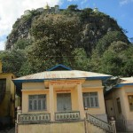 Buddhist and Nats' shrines on Mount Popa