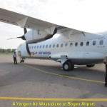 A Yangon Airways plane