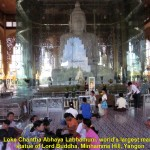World largest marble statue of Lord Buddha in the glass casing