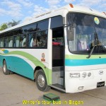 Writer's Bagan tour bus