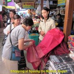 Shopping at Nyaung Oo Market, Bagan