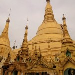 The magnificent golden Shwedagon Pagoda, Yangon