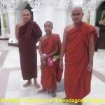 Buddhist teachers at Shwedagon Pagoda