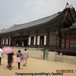 Gangnyeong-jeon(King's Quarter)
