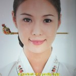 A portrait of a pretty Korean lady in Cheongwadae Sarangchae