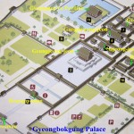 A pictorial plan of Geongbokgung Palace