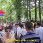 Tianzi Mountain visitors