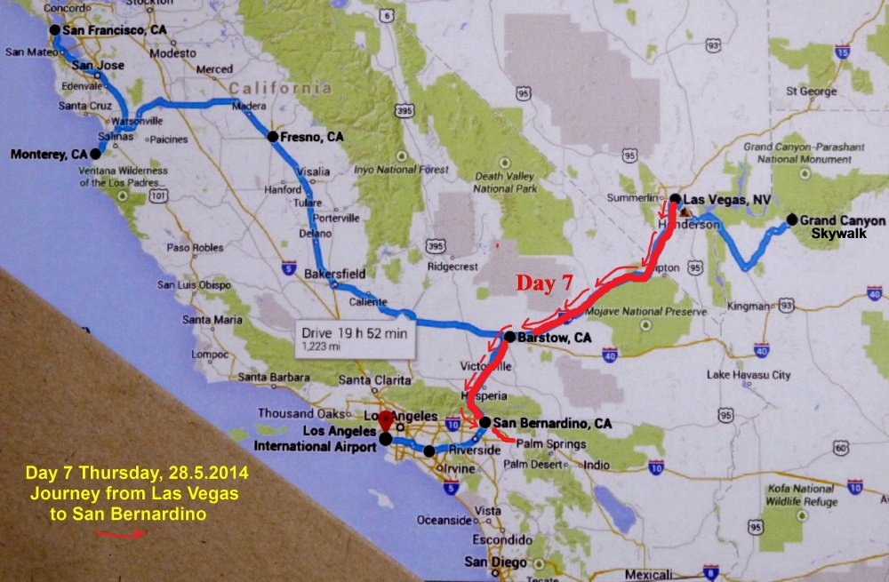 USA West Coast Travel Part V Premium Outlets In S California - Us West Coast Map With Cities