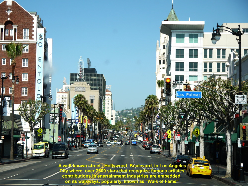 USA West Coast Travel Part VII Hollywood Walk Of Fame Travel - Famous cities in usa