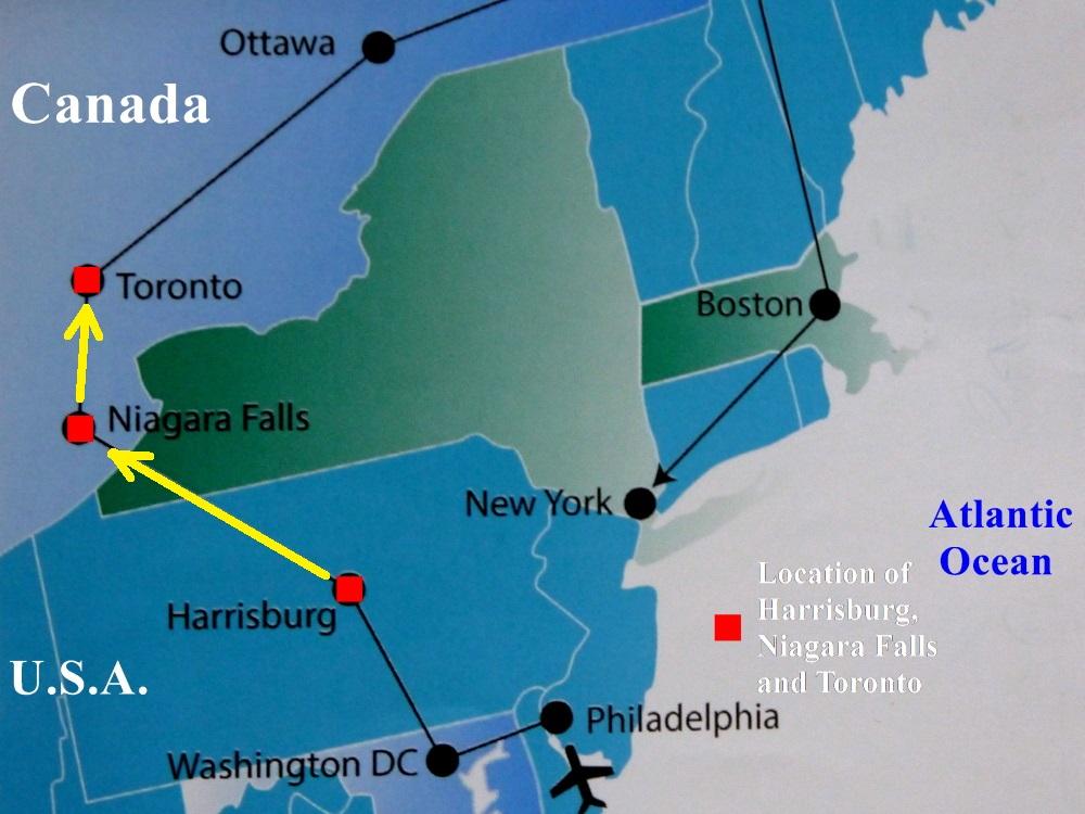 USACanada East Coast Travel IINiagara Falls and Toronto Travel