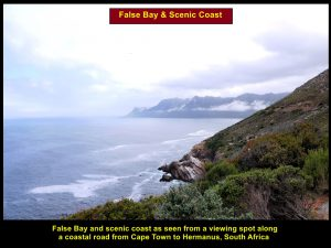 Stunning scenery of False Bay and coast