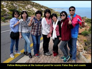 Fellow=Malaysians at False Bay lookout point