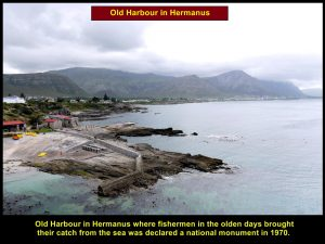 Hermanus was a fishing town in the olden days and was declared as a national monument in 1970.