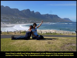 "Beautiful scenery of ""12 Apostles"", Camp's Bay and Clifton Town"