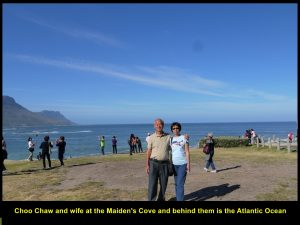 Choo Chaw and wife at Maiden's Cove on 29 Nov 2016