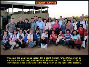 Malaysian tourists going for an 8D6N South Africa Tour